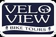 Velo View Bike Tours Logo Blue (PNG).png