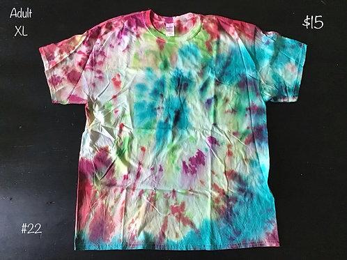 TieDye T-Shirt Rainbow