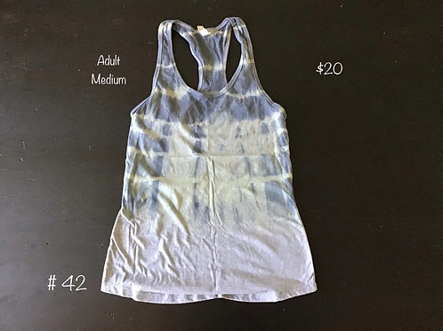 TieDye Tank Top Gray