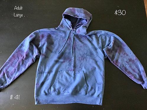TieDye Sweatshirt Blue