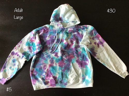 TieDye Sweatshirt Rainbow