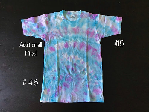 Tie Dye T-Shirt Purple/Blue