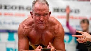 Motivation - 62-Year Old Former Marine Sets Guinness World Record by Holding Plank for Over 8 Hours