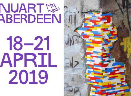 Streetart NUART  18 au 21 avril
