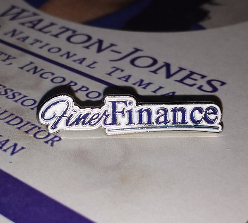 Finer Finance Signature Pin