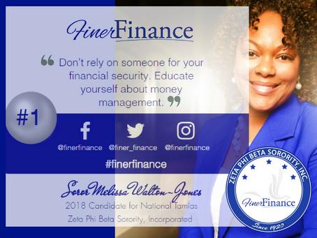 Finer Finance Fridays #1