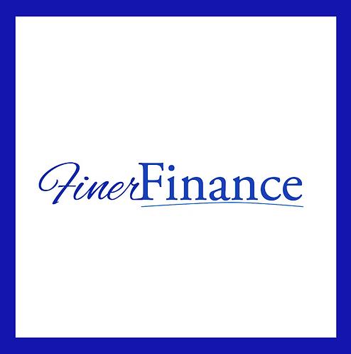Finer Finance Bar Pin