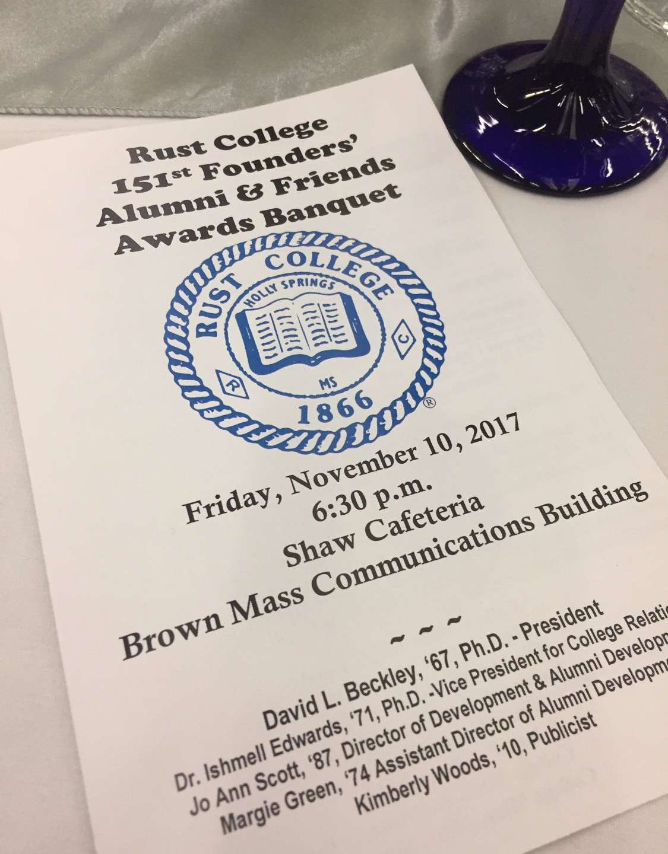 Rust College Alumni Awards Banquet
