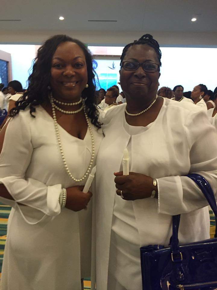 Me and My mom, Soror Machelle Walton - Boule' 2016: Tyler Sisters National Legacy Club Induction