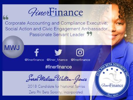 Finer Finance Fridays #MWJ - It's Personal