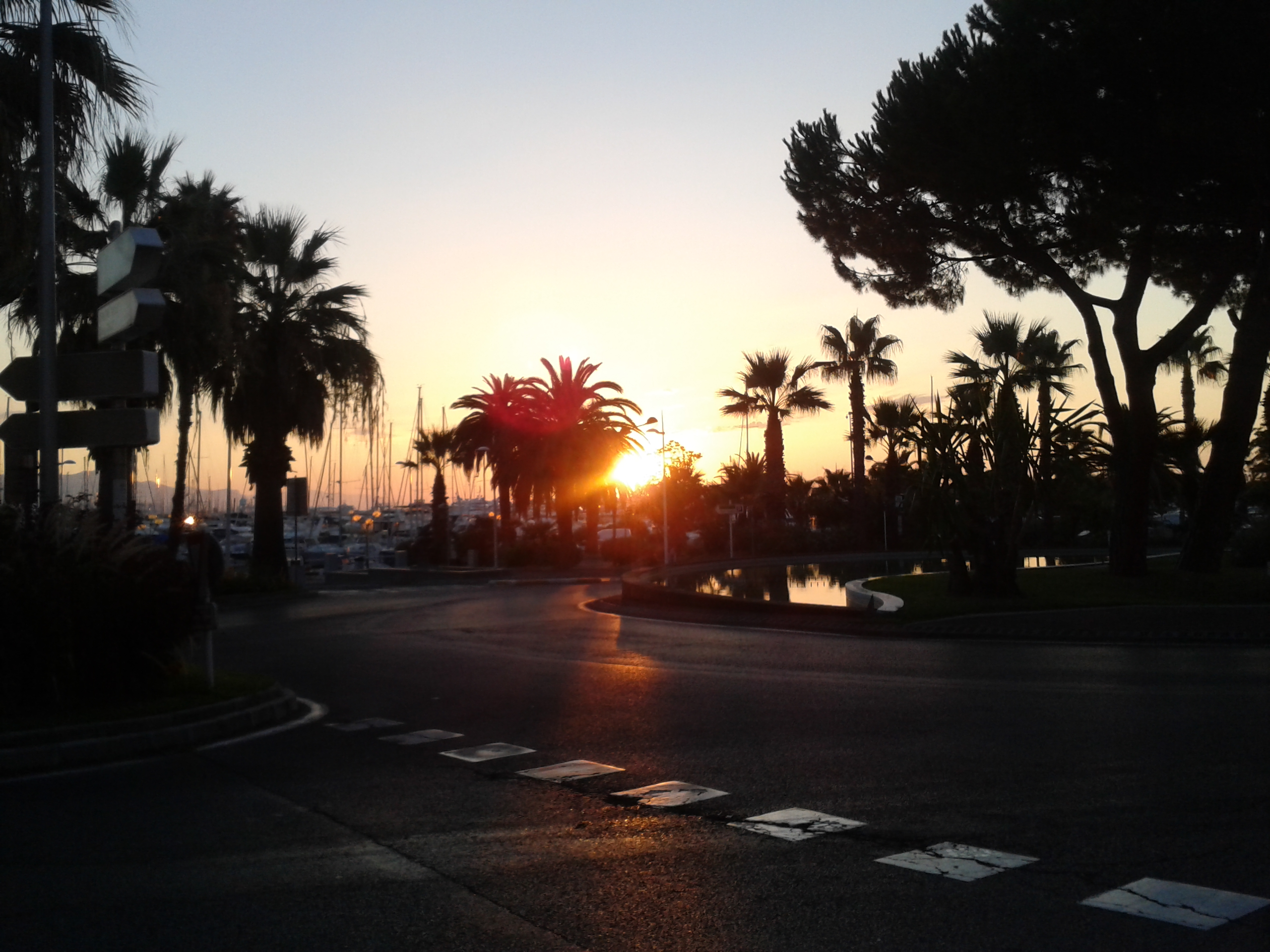 Antibes sunrise