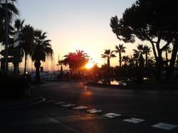 Antibes sunrise