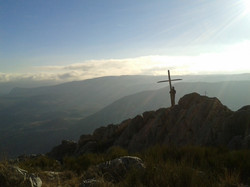 Hike above Greolieres