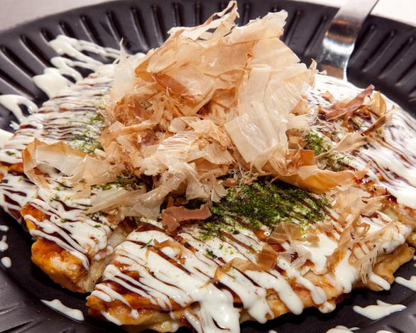 京風お好み焼き(デラックス)1,850円