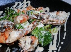 天使の海老とブロッコリーのマヨネーズ焼き 1,000円