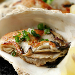 殻付き牡蠣焼