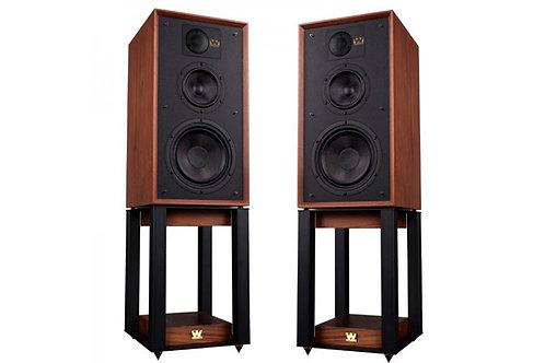 Cajas acústicas Wharfedale Linton con stands