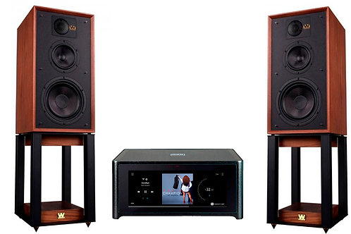 Nad M10 Bluos + Wharfedale Linton + Stands