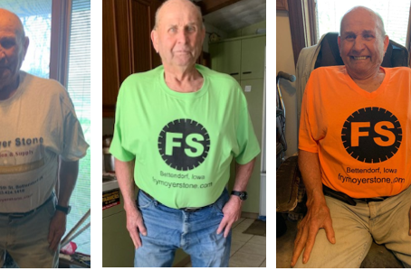 Charlie Frymoyer, FS T-Shirt Model