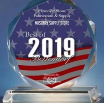 2019 Best of Bettendorf Award - Masonry Supply Store