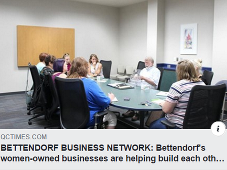 BETTENDORF BUSINESS NETWORK: Bettendorf's women-owned businesses are helping build each other up