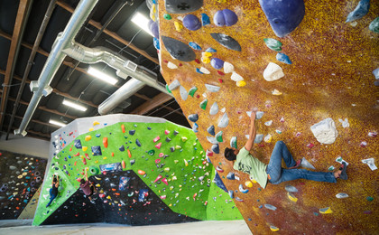 Hangar 18 Indoor Climbing Gym