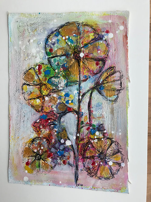 Small Floral Painting(2)