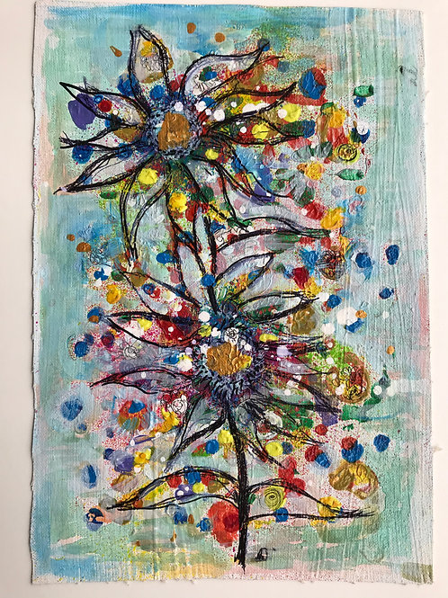 Small Floral Painting  (1)