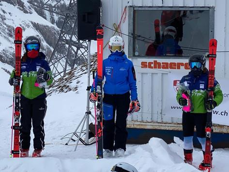 Shaienne Zehnder gewinnt IR Riesenslalom in Engelberg