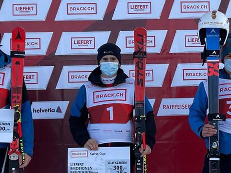 Erstes Swiss-cup Podest für Kaspar Kellerhals!