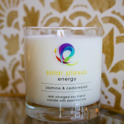 Solar Plexus Chakra Candle: Energy