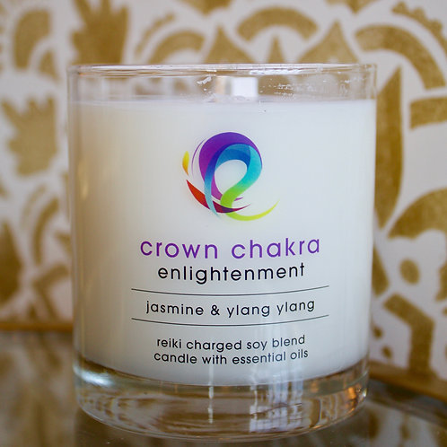 Crown Chakra Candle: Enlightenment