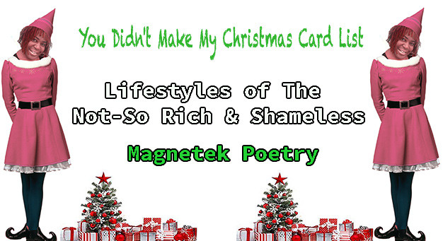 MoHagani's Christmas Card List