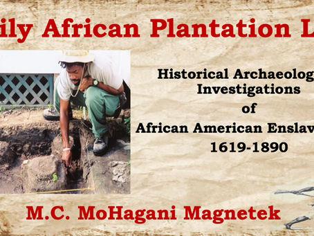 Black History Month Magnetek Archaeology Lecture