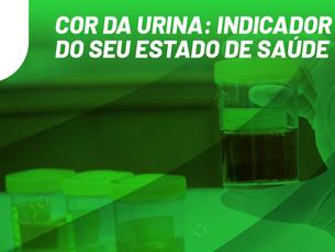 Cor da urina: indicador do seu estado de saúde