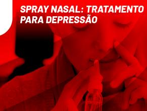 Spray nasal: tratamento para depressão