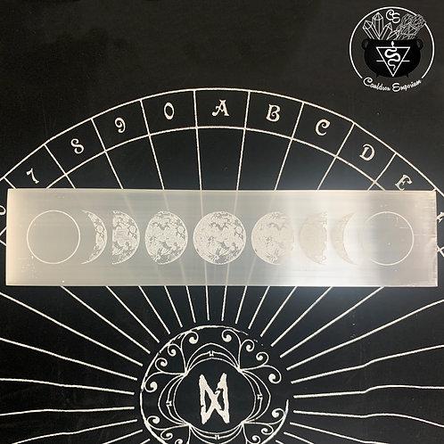Moon Cycle Selenite Charging Plate