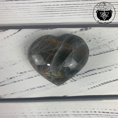 Labradorite Heart 10B