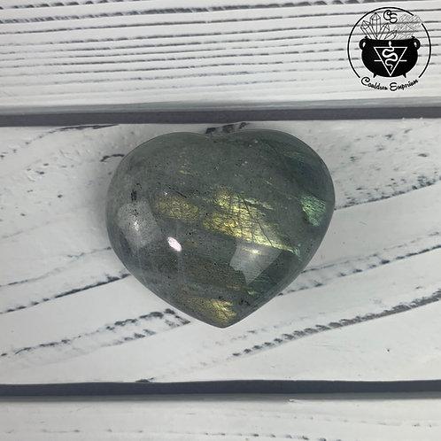 Labradorite Heart 12C