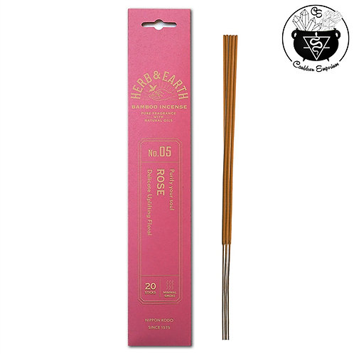 Incense - Herb & Earth - Rose