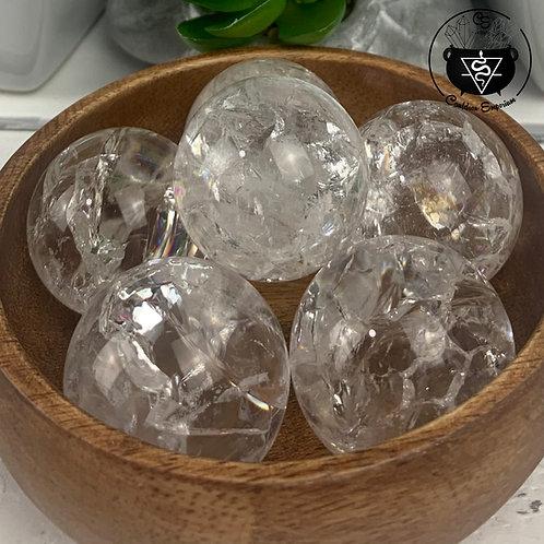Crackle Quartz Spheres