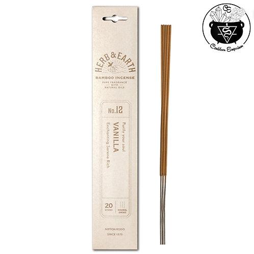 Incense - Herb & Earth - Vanilla