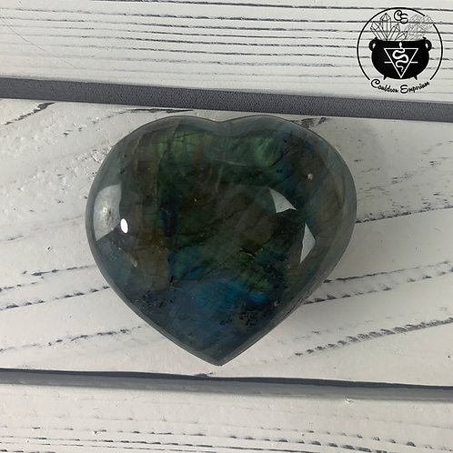 Labradorite Heart 22A