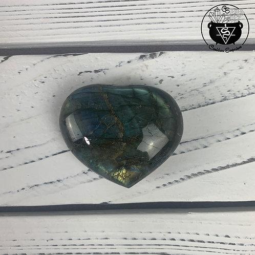 Labradorite Heart 12D