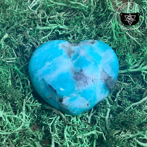 Madagascar Amazonite Heart