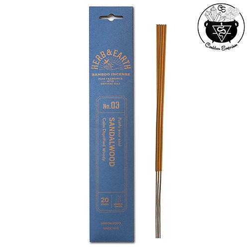 Incense - Herb & Earth - Sandalwood