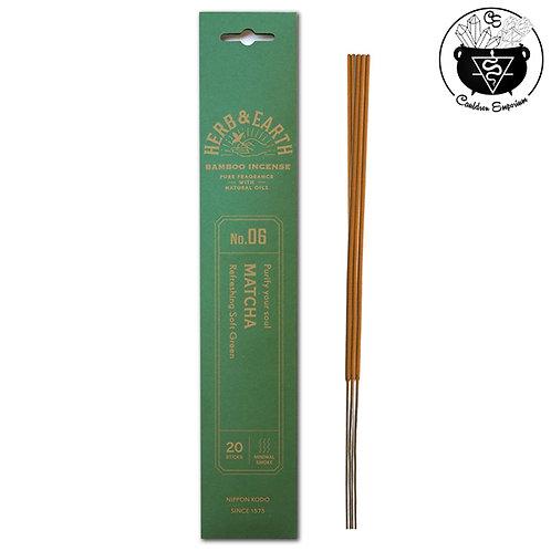 Incense - Herb & Earth - Matcha