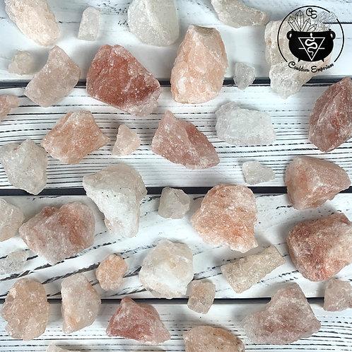 Pink Himalayan Salt Rough Chunks
