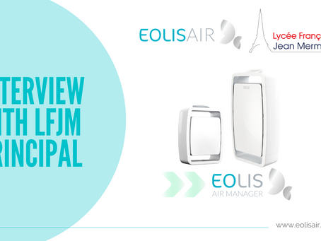 LFJM prevents Covid-19 propagation with Eolisair's professional air purifier