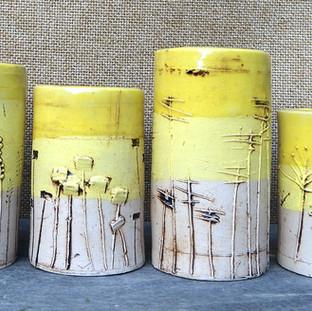 Little Pots Yellow